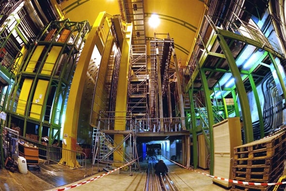 New Particles Found at Large Hadron Collider