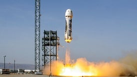 Blue Origin's Suborbital Rocket Passes Milestone Safety Test