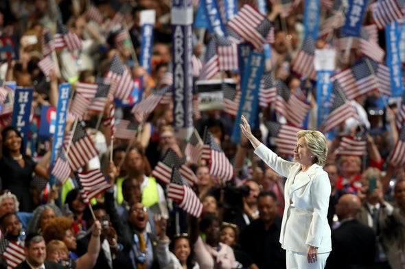 "Hillary Clinton Declares, ""I Believe in Science"""