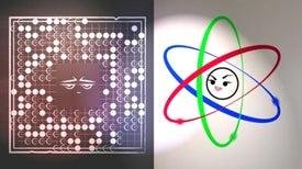 Epic Math Battles: Go versus Atoms