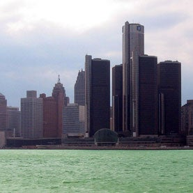 Sewage Overflow Adds to Detroit's Woes