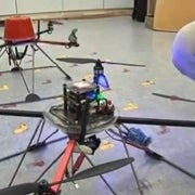 Autonomous Drones Learn to Fly as a Flock