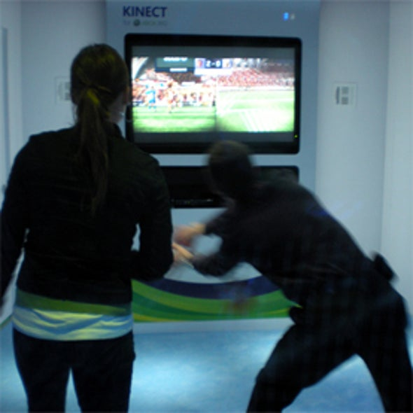 Notions of Motion: Hackers Harness Microsoft's Kinect for Business and Pleasure Applications