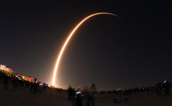 "SpaceX Tests Black Satellite to Reduce ""Megaconstellation'""Threat to Astronomy"