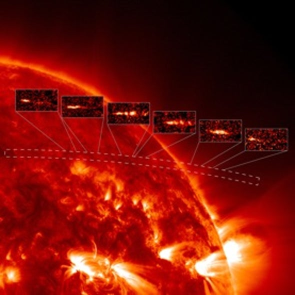 Solar Swan Song: NASA Satellite Witnesses a Comet's Plunge into the Sun