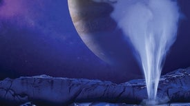 Plumes Spotted on Europa Suggest Easy Access to Water