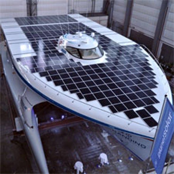 World's Mightiest Solar Boat Unveiled