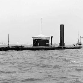 iron-clad ship monitor class Canonicus Civil War