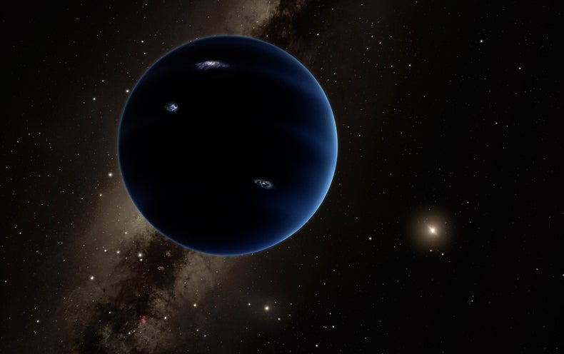 Closing in on a Giant Ghost Planet