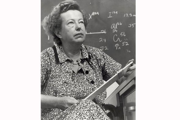 The Last Woman to Win a Physics Nobel