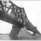YELLOW RIVER RAILWAY BRIDGE: