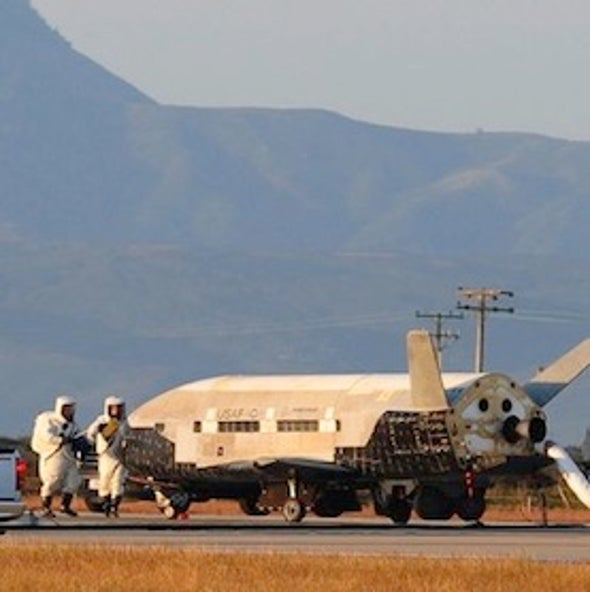 Air Force Launching Secretive X-37B Space Plane in October, Could Land in Florida