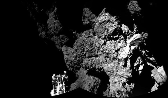 Never Mind Philae's Topsy-Turvy Touchdown, Its Brief Mission Advances Comet Science