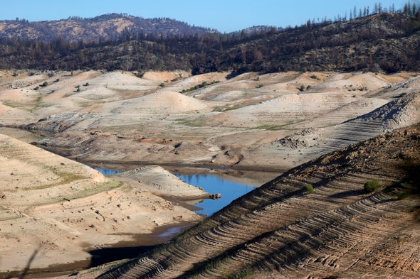 Hydropower Withers in Drought, Boosting Fossil-Fuel Generation