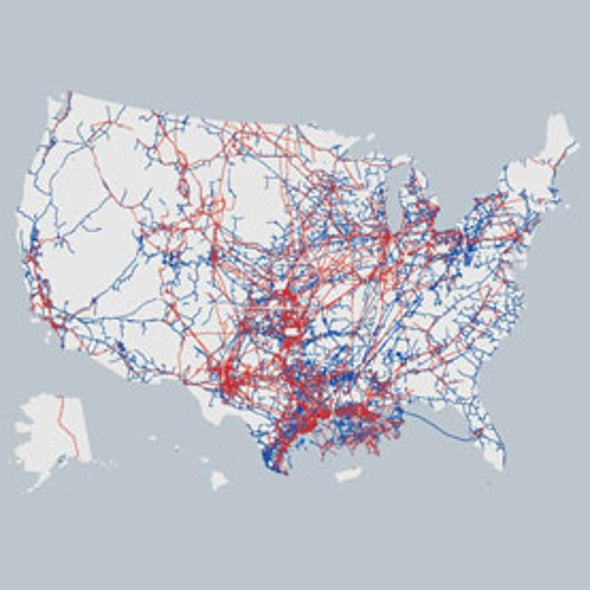 How Safe Are America's 2.5 Million Miles of Pipelines?