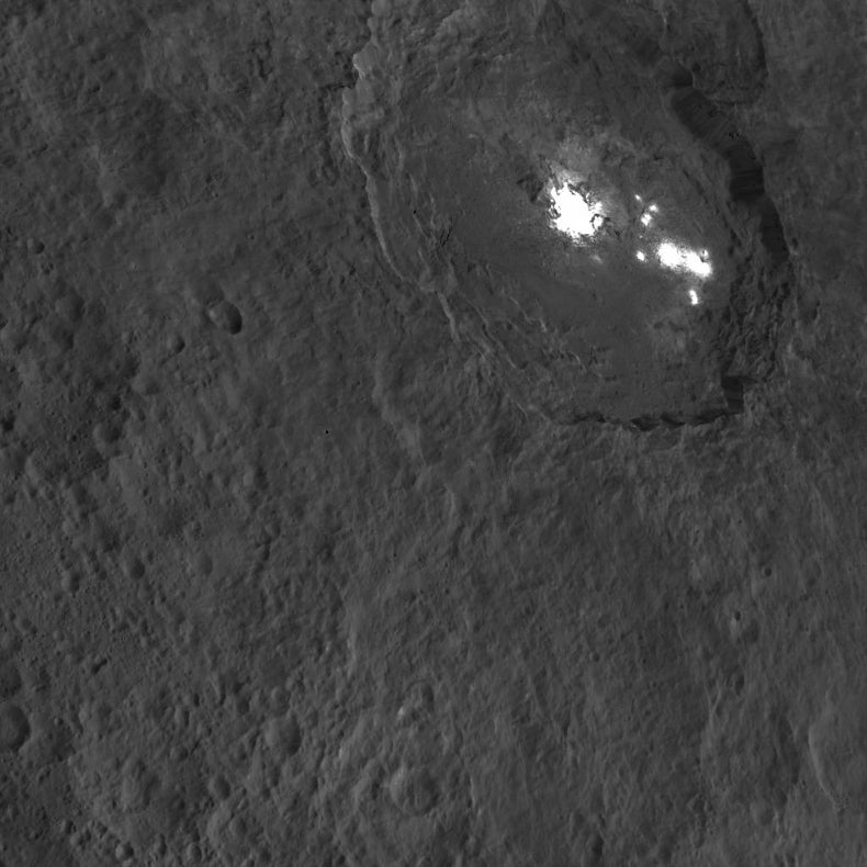 Ceres Is Cloudy, with a Chance of Cryovolcanoes