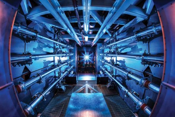 Fusion Experiment Breakthrough