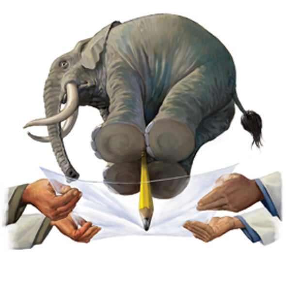 Elephant Illustrates Important Point