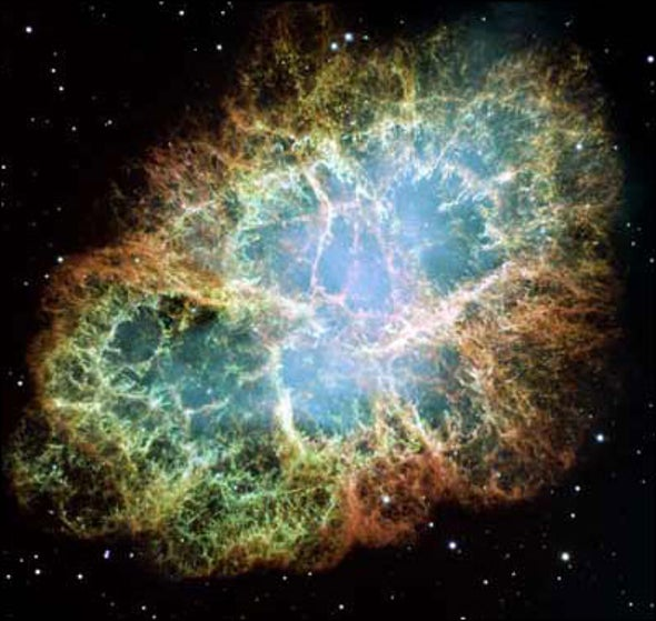Hubble Captures the Crab