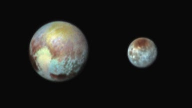 New Horizons Emerges Unscathed from Pluto Flyby