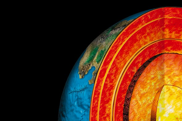 Earth's Mantle Is Hotter Than Scientists Thought