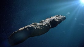 Was the Interstellar Object 'Oumuamua a Nitrogen Iceberg?