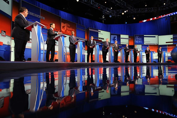 Republican Candidates Questioned on Climate Change