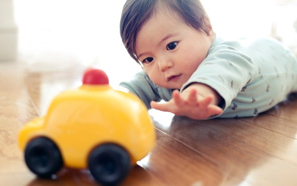 Sophisticated Communication from 8-Month-Old Babies