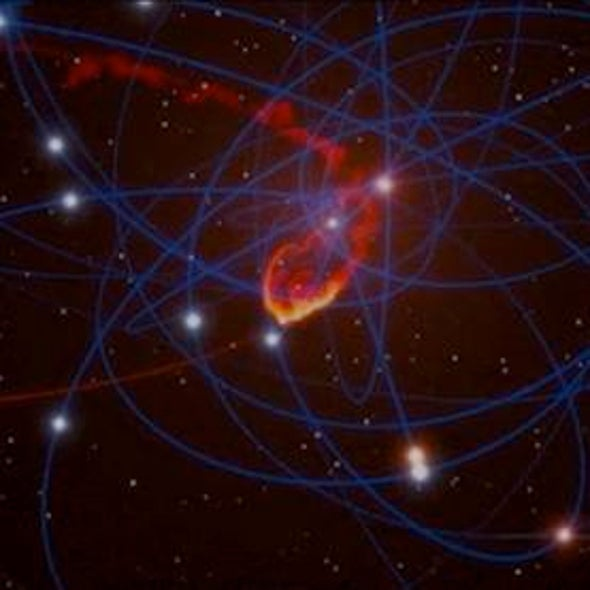 Milky Way's Black Hole to Gobble Space Cloud This Year