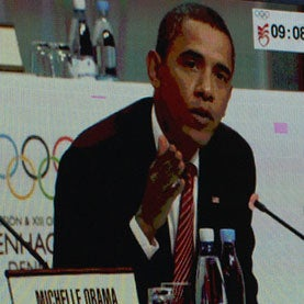 Obama in Copenhagen