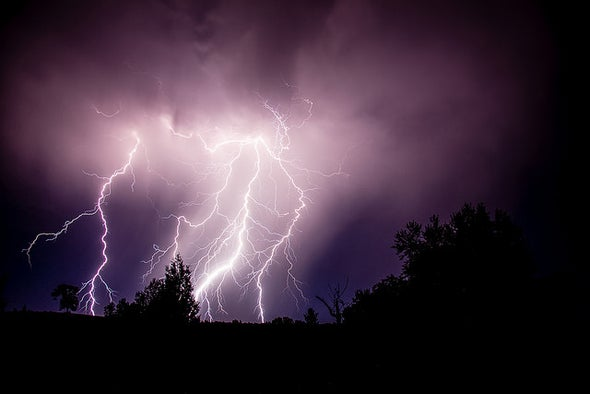 Lightning May Increase with Global Warming
