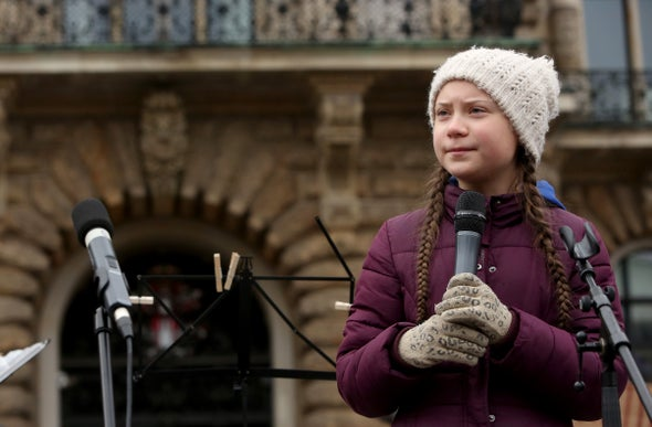 Climate Deniers Launch Personal Attacks on Teen Activist