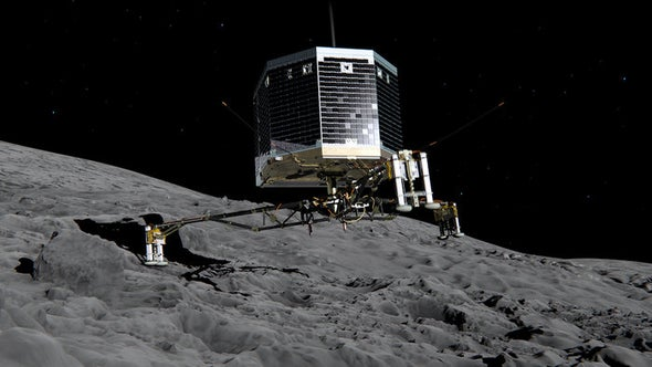 Comet Landing: A Guide to a Spacecraft's Perilous Mission This Week [Video]