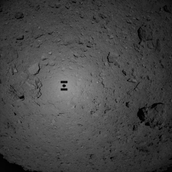 In Search of Life's Origins, Japan's Hayabusa 2 Spacecraft Lands on an Asteroid