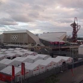London Olympics, London Media Center, Olympic Stadium, Shard