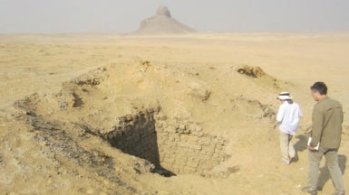 """Space Archaeologists"" Show Spike in Looting at Egypt's Ancient Sites"