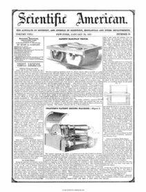 Scientific American Volume 8, Issue 19