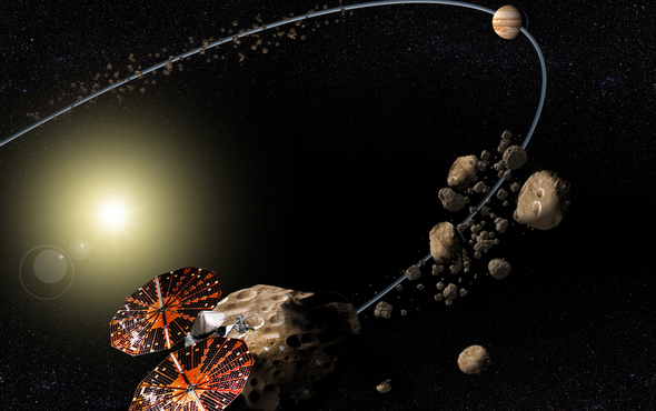 Colorful Asteroids Near Neptune Reveal a Solar System Conundrum