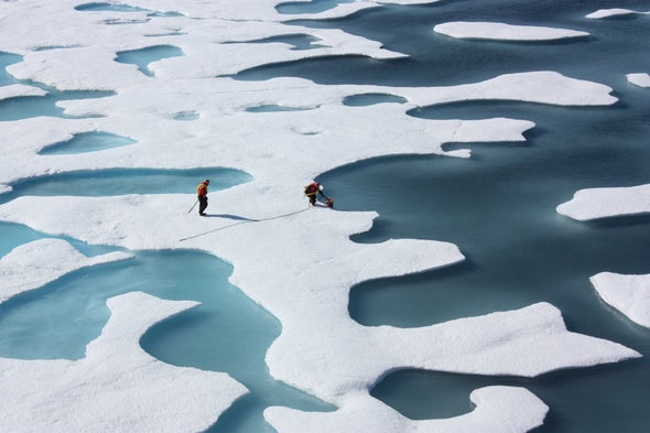 5 Years of Record Warmth Intensify Arctic's Transformation