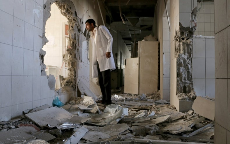 Airstrike Hits Doctors Without Borders Hospital in Yemen