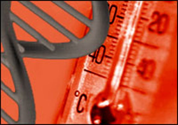 Scientists Take DNA's Temperature