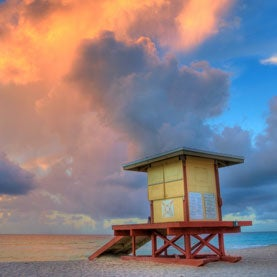 hollywood sunrise, fort lauderdale, florida, hollywood beach