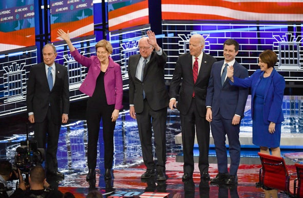 Climate Change Sparked Note of Consensus in Raucous Democratic Debate