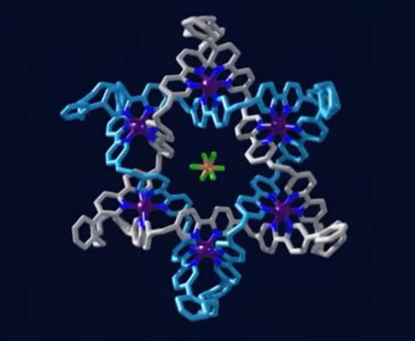 Star of David Re-Created as a Molecular Knot [Video]