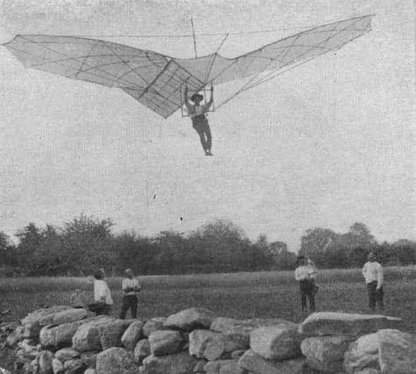 "<i>Scientific American</i> Debunks Claim Gustave Whitehead Was ""First in Flight"""