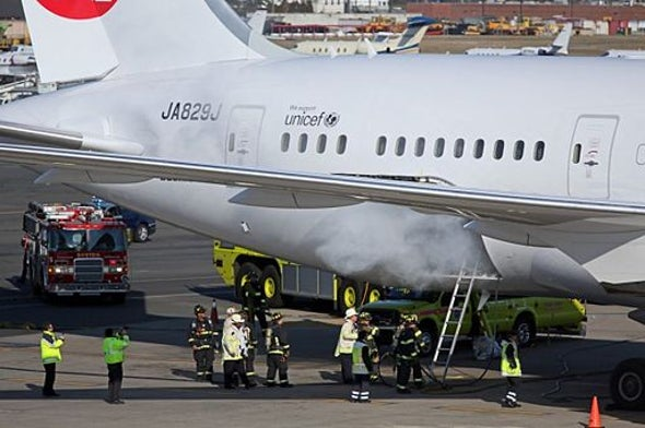 How Lithium Ion Batteries Grounded the Dreamliner