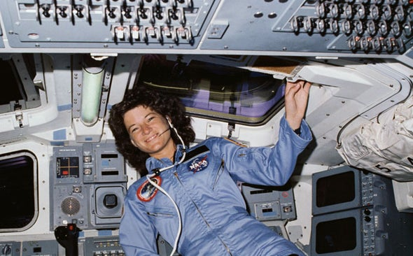 The Real Sally Ride: Astronaut, Science Champion and Lesbian