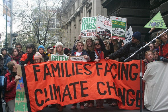 Climate Moms (and Dads) Fight Global Warming