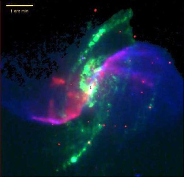 Galactic Pinwheel Explained
