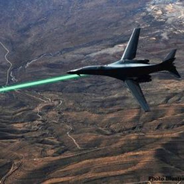 U.S. Military to Test Lasers for Warplanes in 2014